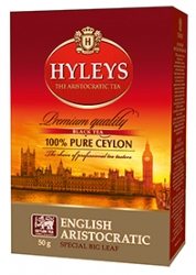 Černý čaj Hyleys English Aristocratic - 50g sypaný