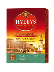 Černý čaj Hyleys English Royal Blend Tea - 100g sypaný