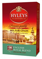 Černý čaj Hyleys English Royal Blend Tea - 50g sypaný